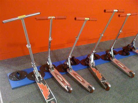 Scooter Rack diy scooter bike racks on scooters pvc bike racks and skateboard rack