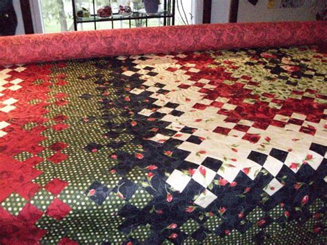 Blooming Nine Patch Quilt Pattern by Bloom 9patch 9patch Quilt Melissasblooming9patch