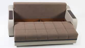 loveseat couch bed ultra optimum brown convertible sofa bed by sunset