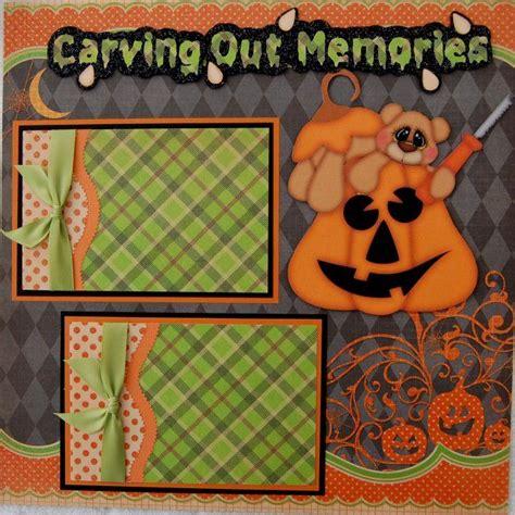 scrapbook layout ideas for halloween 17 best images about halloween on pinterest halloween