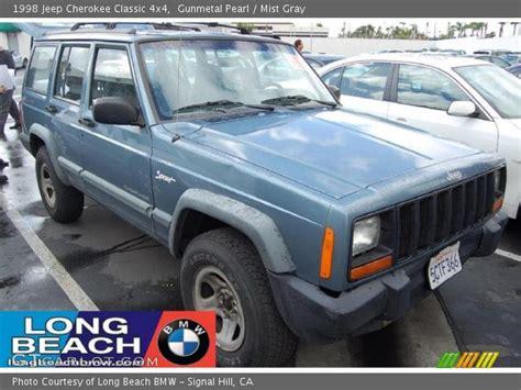 gunmetal blue jeep gunmetal pearl 1998 jeep cherokee classic 4x4 mist