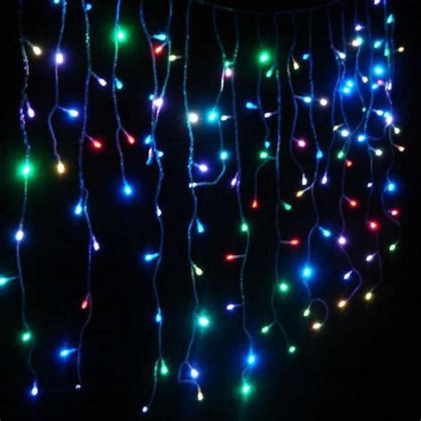 aleko 10 ft 105 light led multicolor string lights