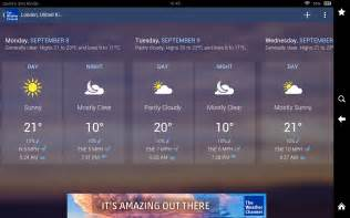 The Weather For The Weather Channel Forecast Radar Alerts