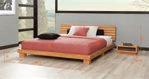 lits en bois massif 160x200 gascity for