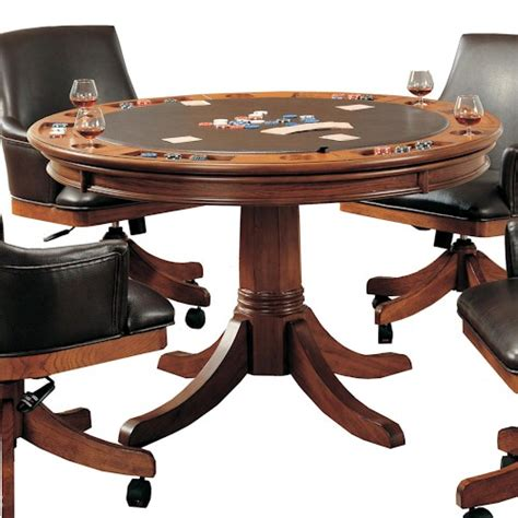 hillsdale park view flip top gaming dining table