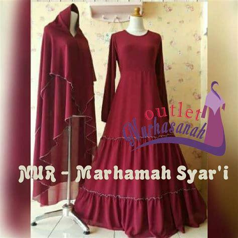 Baju Pesta Muslimah Marhamah Syar?i Dress (Bisa Dicicil