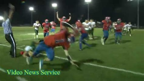 section vi football section 5 football attica vs alexander youtube