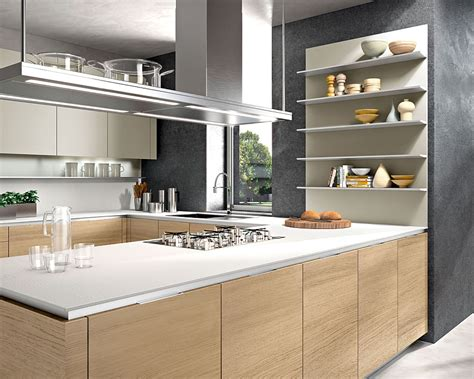 modern kitchen shelves contemporary italian kitchen offers functional storage
