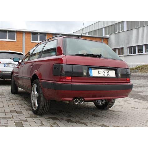 Audi 80 Sportauspuff by Audi 80 Typ B4 Quattro Endschalld 228 Mpfer 2x76 Typ 11 Fox