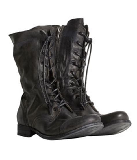 Sepatu Pria Crocodile Zipper Leather Boots Black 39 43 allsaints boots who wear use or