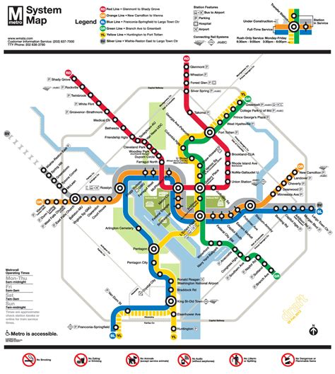dc subway map getting around dc the lansburgh