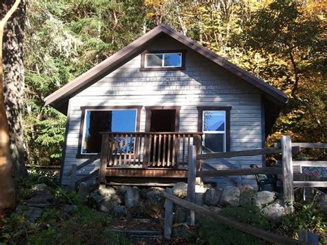 lake crescent cabin vacation rental olympic national