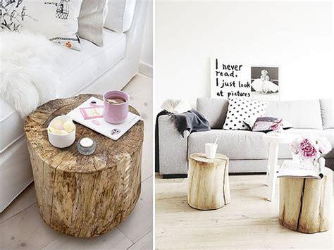 diy home inspo tree stump coffee tables a pair a spare