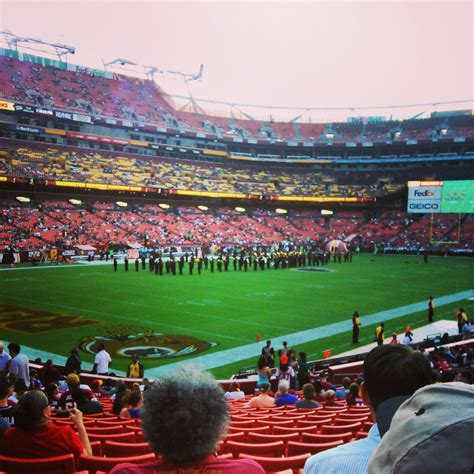 section 215 fedex field fedexfield section 128 rateyourseats com