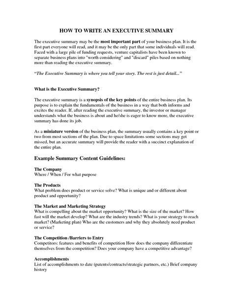 executive summary template exle mughals