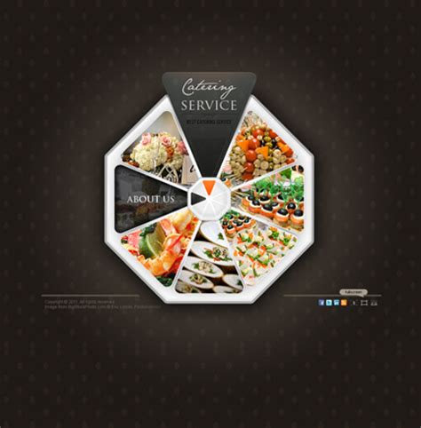 catering template ppt catering service gallery template best website