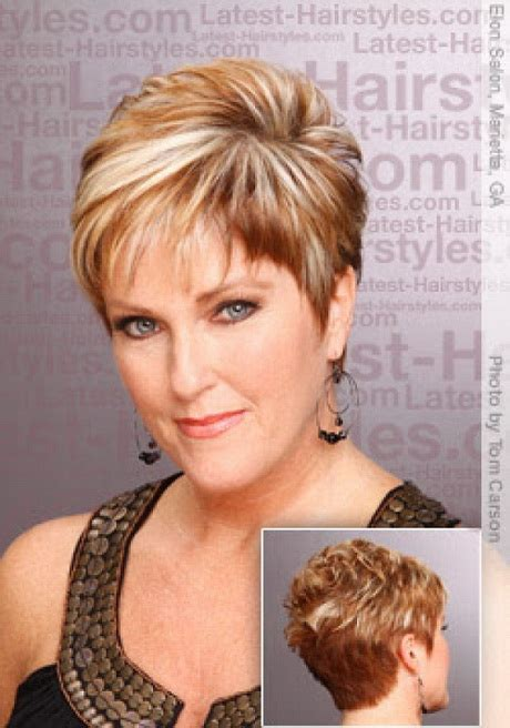 hairstyles for round faces over 60 short hairstyles for women over 60 with round faces www