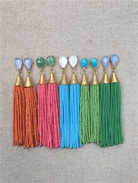 Lovisa Gold Chain With Fabric Necklace multi stud beaded tassel earrings a c c e s s o r i z e