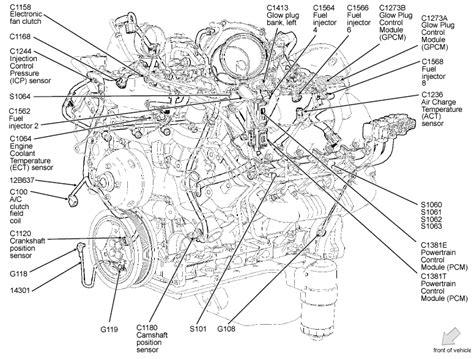 diagram for 5 4 ford 5 4 l engine diagram automotive parts diagram images
