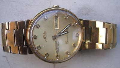 Jam Tangan Mido Classic toko antiek retro vintage classic jam tangan emas original automatic mido commander