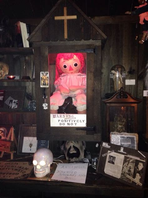annabelle doll at warrens occult museum warren occult museum museums ct yelp