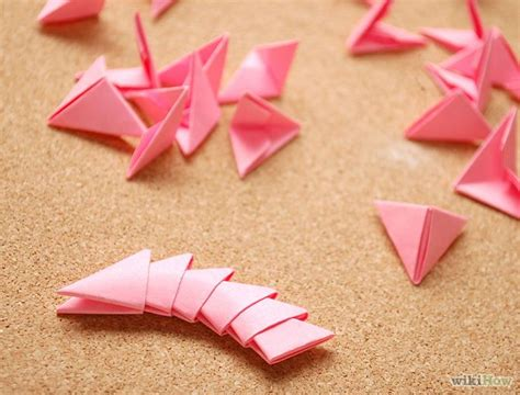 How To Make Paper Pieces - 25 best ideas about 3d origami tutorial on