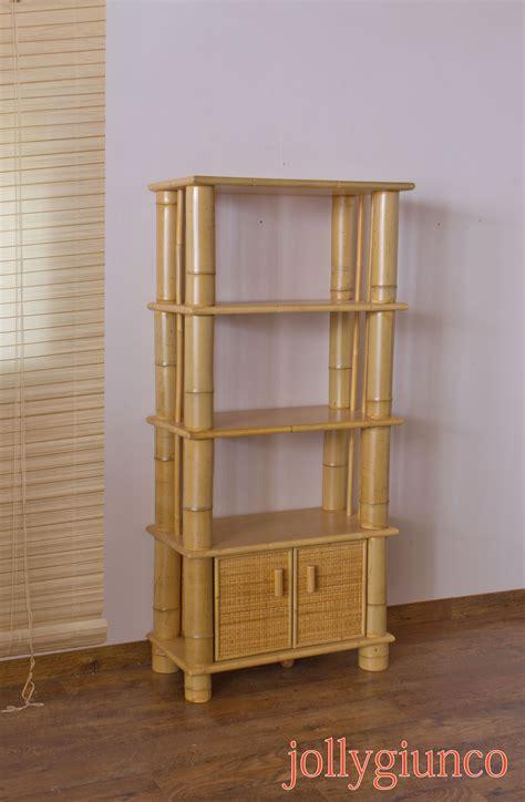 mobili bambu produzione di librerie etniche in bamboo
