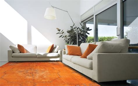 orange rugs for living room overdyed and rugs home designs