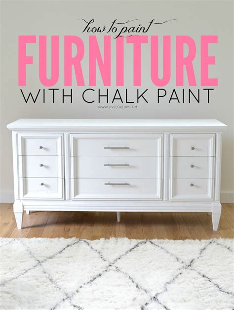 chalk paint wood how to paint furniture with chalk paint and how to