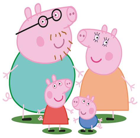 peppa pig totally movable wall sticker decal easy remove