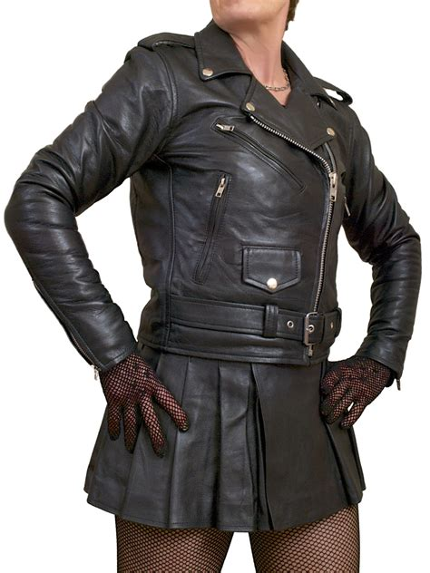 ladies leather motorcycle womens marlon brando biker leather jacket tout ensemble