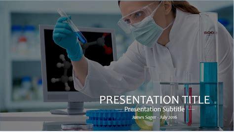 powerpoint templates free laboratory free scientist in lab powerpoint template 9286 sagefox