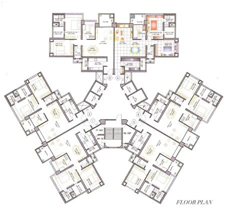 high rise floor plan high rise residential floor plan google search