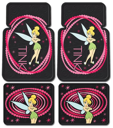 Tinkerbell Car Mats by Tinkerbell Optic Tink Car Mats Seat Covers Accessories Ebay