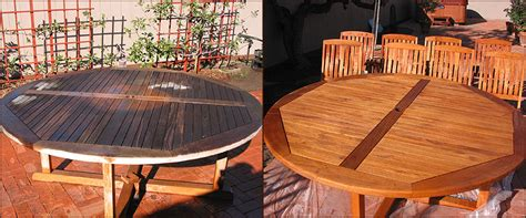 Refinishing Teak Furniture by Indiana Deck Furniture Refinishing Teak Cedar Redwood Or