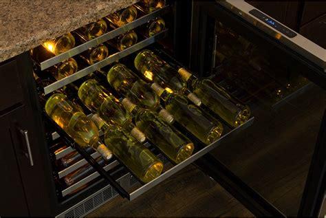 cabinet mount wine cooler mp24wsg5rs marvel 24 quot undercounter wine cooler flush
