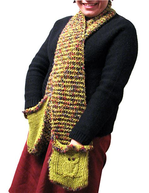 knitting pattern for a scarf with pockets pocket wrap knitting patterns in the loop knitting