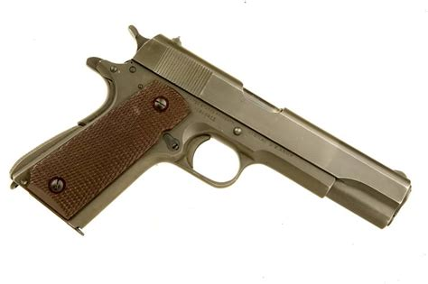 Deactivated Wwi Wwii Colt M1911 Manufactured By Deactivated Colt 1911a1