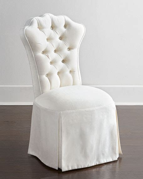 tufted skirted vanity stool haute house allison tufted vanity chair
