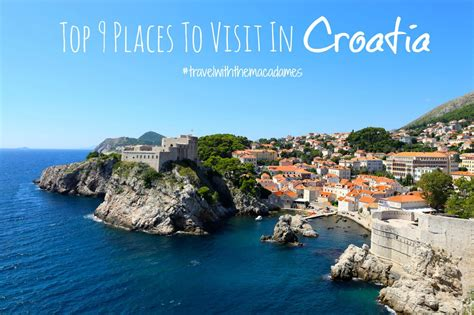 best places to travel best places to visit in croatia