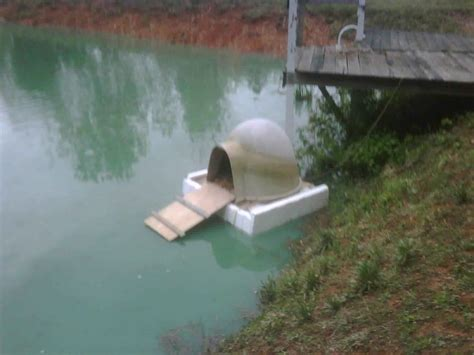 floating duck house floating custom duck house lilly pads of love pinterest