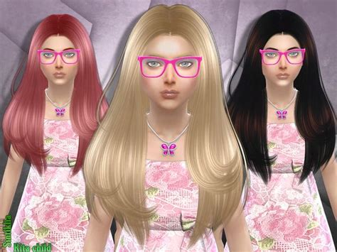the sims 4 hair kids the sims resource sintiklia s hair rita child sims 4
