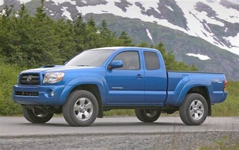 Toyota Tacoma Ground Clearance 2005 Toyota Tacoma Options Features Packages