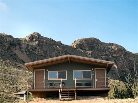 big bend cabins cozy clean rooms shared decks