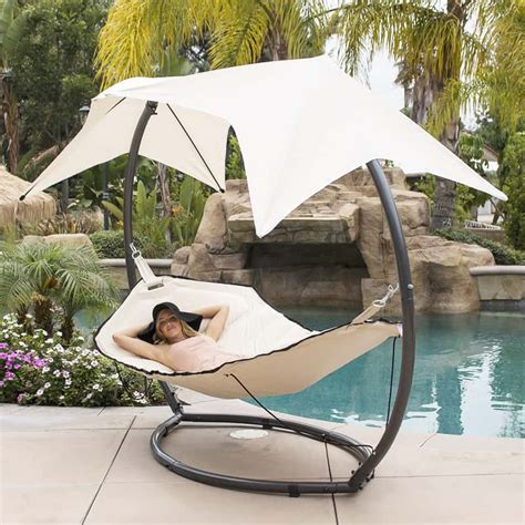 lounge swing 15 outdoor chaise lounges that you can buy right now
