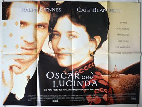 film oscar lucinda oscar and lucinda original cinema movie poster from