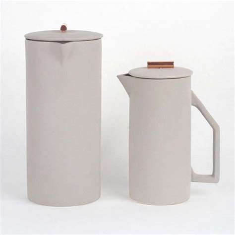 French Kitchen Design the ceramic french press pot lets you brew your favorite