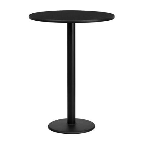 round pub bench flash furniture round bar height restaurant pub table
