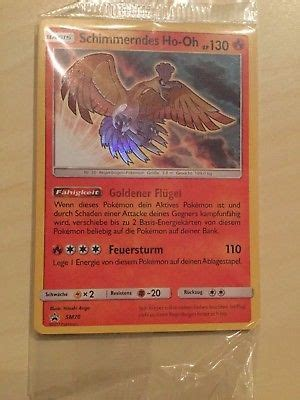 Shining Ho Oh Card Promo Exclusive Legendary Sm70 shining ho oh sm70 sm promo sealed shining legends