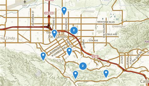 california map redlands best trails near redlands california alltrails